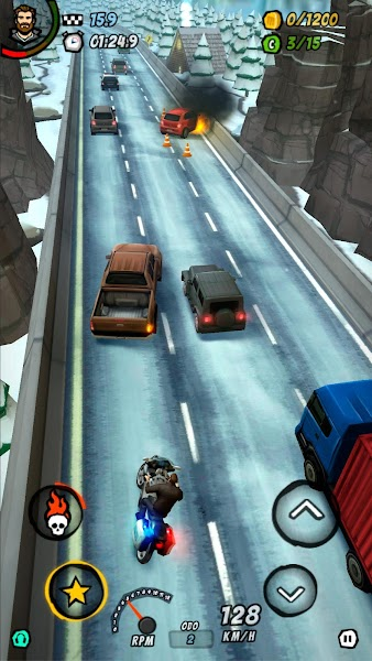 Moto Racing 2: Burning Asphalt v1.105 [Mod]