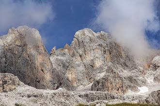 Photo: Bocca due Denti e cima D'agola