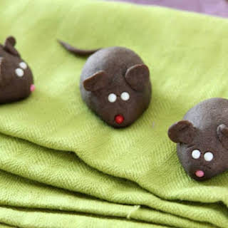 Chocolate Cookie Mice.
