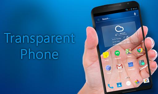 Transparent Phone 1.0 screenshots 5
