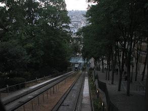 Photo: Montmarte funicular