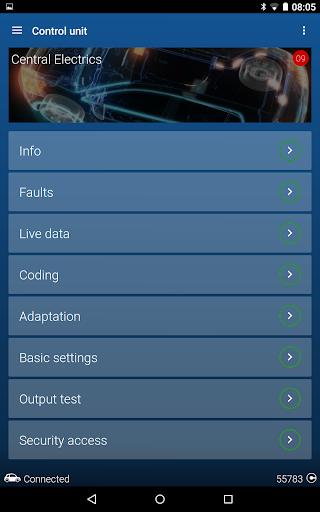 OBDeleven PRO car diagnostics app VAG OBD2 Scanner  screenshots 19