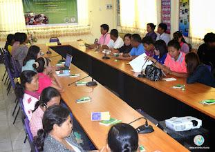 Photo: Participants at the workshop