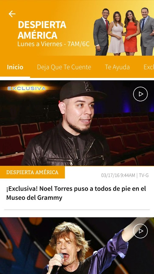 Univision- screenshot