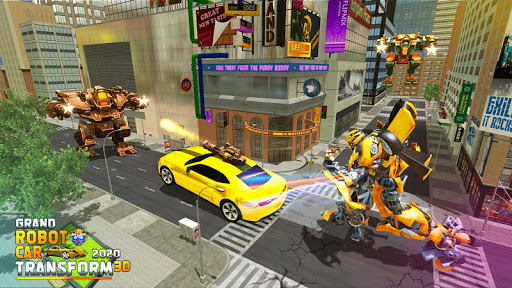 Grand Robot Car Transform 3D Game  screenshots 1