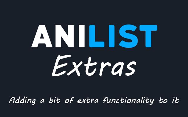 AniList Extras