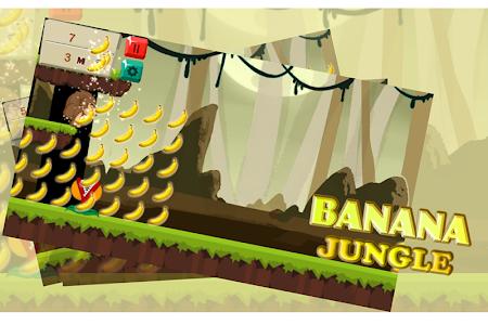 Banana Jungle Kong Run screenshot 0