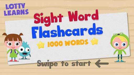 玩免費教育APP|下載Sight Word Flashcards app不用錢|硬是要APP