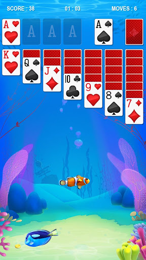 Solitaire - Ocean - screenshot