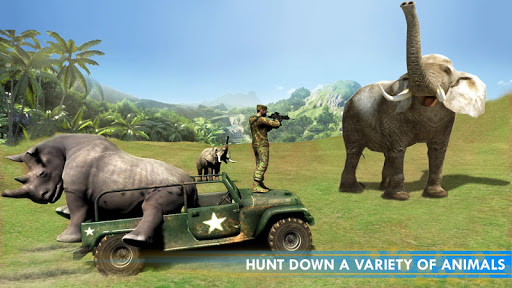 Hunting Games - Wild Animal Attack Simulator screenshots 1
