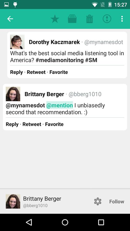 Mention- screenshot