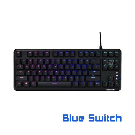 Bàn phím cơ Fuhlen M87s Blue switch (Đen)