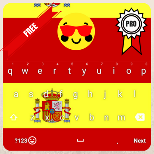 Spain Keyboard Theme & Emoji