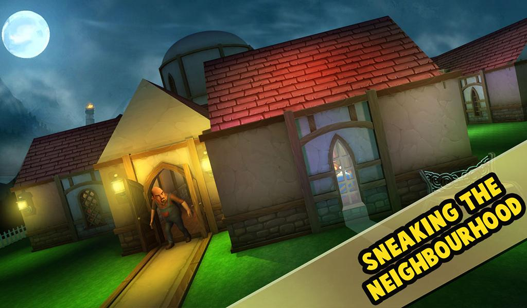 Screenshots of Scary Neighbor 3D for iPhone