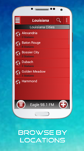 android A2Z Louisiana FM Radio Screenshot 5