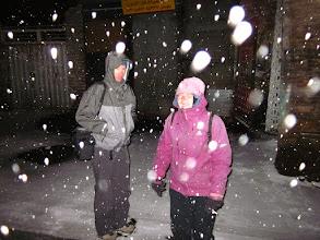 Photo: Vraiment beaucoup de neige.