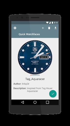 Quick Watchfaces LG G4