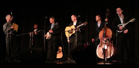 Photo: The Gibson Brothers Jeff Anzevino, Clayton Campbell, Eric & Leigh Gibson, Mike Barber, Joe Walsh