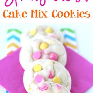 Spring Burst Cake Mix Cookies Recipe!.