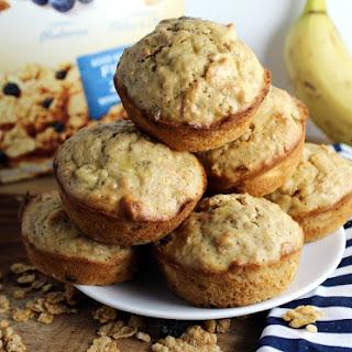 Cereal Banana Muffins.