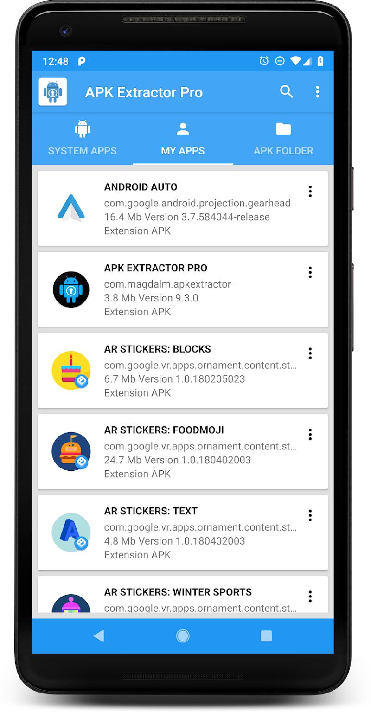 APK EXTRACTOR PRO Screenshot 0
