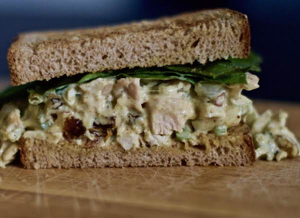 Curry Chicken Salad Sandwich Recipe