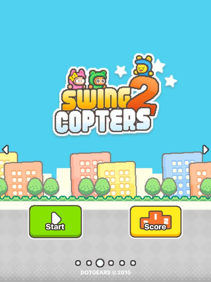 %name Do criador de  Flappy Bird, Swing Copters 2 já se encontra disponível para Android image