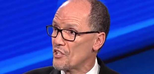 DNC chair repeats falsehood about Trump