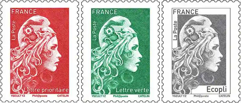 フランスからの郵便送り方自動販売機の使い方2020