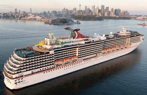 carnival-legend.jpg - The 2,124-passenger Carnival Legend splits its time between Australia and Alaska, with two very different demographics.