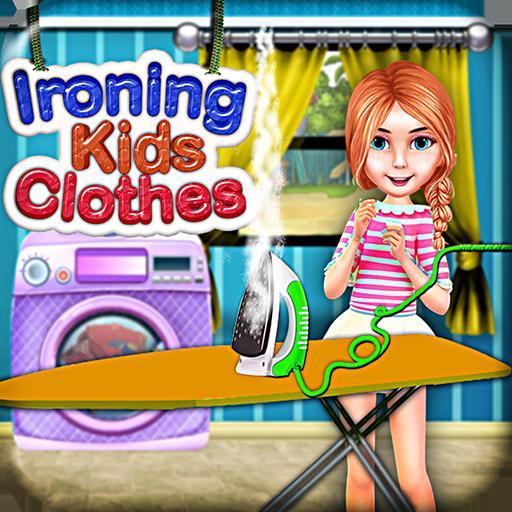 熨燙衣服的女孩遊戲 休閒 App LOGO-APP試玩