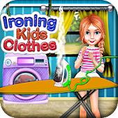 Ironing Kids Clothes