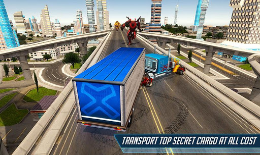 Heavy Truck Robot Giant Truck Driver Simulator 9 screenshots 3