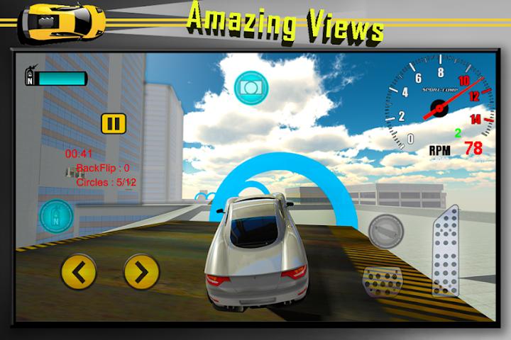 android Car Stunts Extreme Sim Screenshot 3