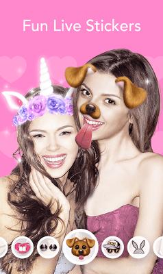 Live Filter, Sticker, Selfie Editor - BeautyCam - screenshot