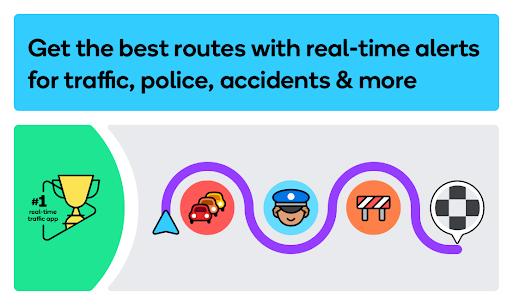 Waze – GPS, Maps, Traffic Alerts & Live Navigation 1