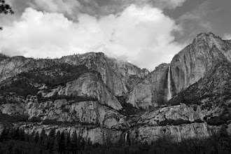 Photo: At Cook's Meadow, Clouds over Yosemite Falls, Day 3, SX10 #2309