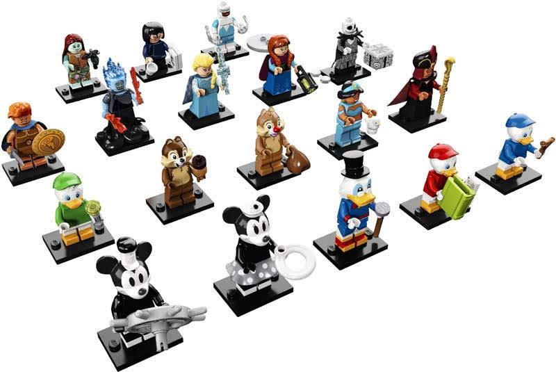 Contenido de Lego® 71024 Sobre Sorpresa Edición Disney 2