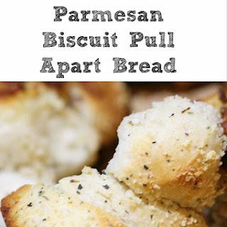 Garlic Parmesan Biscuit Pull Apart Bread Recipe