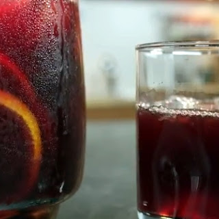 Spanish Red Wine Sangria.