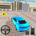 Winter Car Parking Drive Free Game : 3D Car Games icon