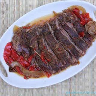 Zesty Flank Steak.