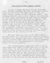 Photo: Extract from Irish Sub Aqua Club's Newsletter.  November 1961