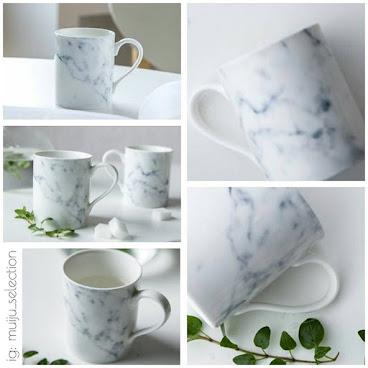 🔹淡雅雲石紋陶瓷杯🔹品味生活~精品禮物