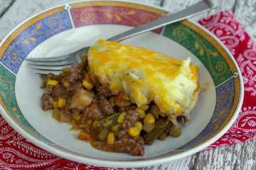 "Lori's Quick and Easy Shepherd Pie""This is a quick ""go to"" meal..."