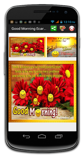 Good Morning Wishes Ecards
