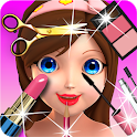 Princess 3D Salon - Girl Star icon