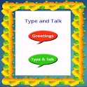Type and Talk icon