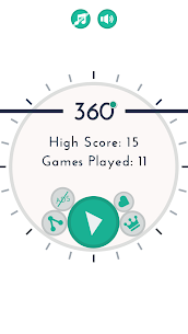 360 Degree Circle Spin 1
