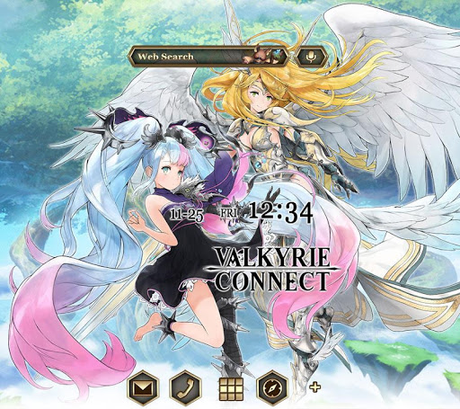 VALKYRIE CONNECT +HOME Theme 1.0.0 screenshots 1